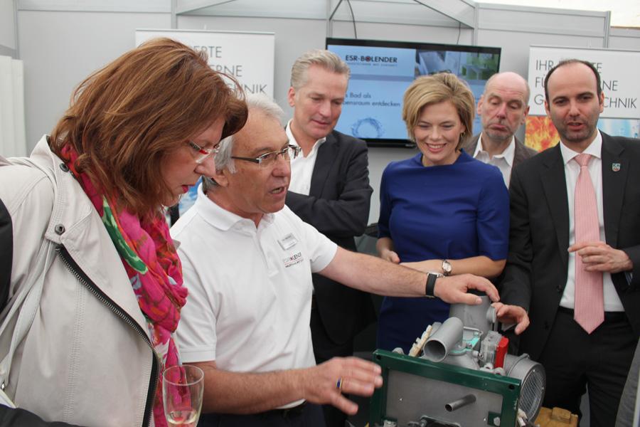 ESR-BOLENDER präsentiert moderne Heizungstechnik auf der Gewerbeschau Langenlonsheim