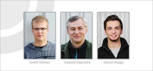 Neue Mitarbeiter bei ESR-BOLENDER