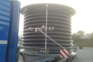 Projekt: Fernleitung für die KHS GmbH in Bad Kreuznach